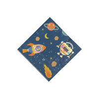 Iridescent Out Of This World Beverage Napkins - Party Supplies - 16 Pieces