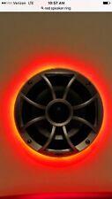 Lighted Speaker Ring Red