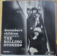 "ROLLING STONES ""December's Children (And Everybody's)"" Vinyl LP USA 1966 Mono"