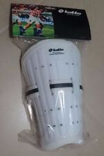 Lotto White Protective Shin Guards Plus Socks New With Tags For Soccer Football
