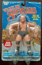 1985 LJN WWF Wrestling Superstars Series 3 Jesse The Body Ventura Figure on Card