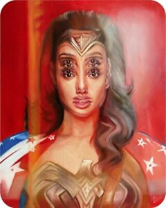 """NYCC 2019 Wonder Woman Double Vision Limited Archival Print Art 16"""" x 20"""""""