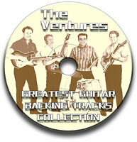 THE VENTURES STYLE ROCK GUITAR BACKING TRACKS COLLECTION AUDIO CD JAM TRAX