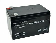 Multipower MP12-12B Bleigel Akku Batterie Scooter Elektrofahrrad 12V 12Ah