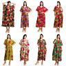 WHOLESALE LOT OF 10 PC COTTON SUN LONG MAXI KAFTAN CASUAL WOMEN EVENING DRESS