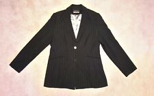 Principles Collection black stripy blazer jacket Size 14