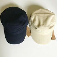 NWT Timberland Men's Prince Cove Waxed Canvas Field Cap Hat A1EA Navy Sand