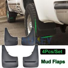 Front Rear Mud Flaps Splash Guards Fender Mudguards Universal For Pickup Truck