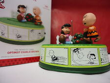 Hallmark 2013 Peanuts Gang Optimist Charlie Brown & Lucy & Football New in Box