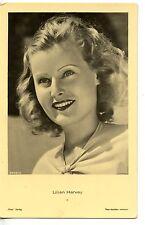 Lilian Harvey actrice chanteuse carte postale cpa photo ancienne