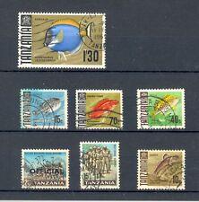 Tanzania 1960s selection, used (see condition description)