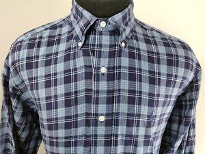Ralph Lauren Mens Yarmouth Long Sleeve Button Down Shirt Size 15.5 32/33 Plaid