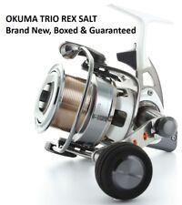 OKUMA TRIO REX SALT TXS60 FRONT DRAG FIXED SPOOL FISHING REEL BEACH CASTING PIT