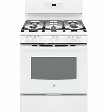 GE JGB660DEJWW 30 Inch Freestanding Gas Range 220 Volts Export Only