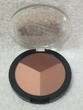Flirt Rock-N-Rebel 01 PINK ROCKER Eyeshadow Trio Brown Tan Neutral .15 oz New