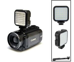 LED Video Light With Kit For Sony HDR-PJ440 HDR-CX440 HDR-CX405 & OTHER MODEL