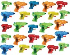 Charmed Mini Colorful Squirt Water Guns Blasters for Kids Birthday Party 25 pcs