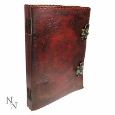 Nemesis Notebook Large Lockable Leather Book of Shadow Red 29x36cm