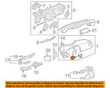 Pontiac GM OEM 05-10 G6 Instrument Panel Dash-Air Deflector 20827712