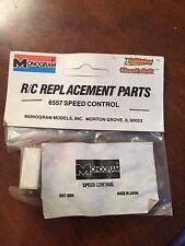 Vintage Monogram RC Car Parts #6557 Speed Control Servo Thunder Lightning