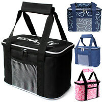 Insulated Thermal Cooler Bag Food Lunch Storage Picnic Camping Portable Tote Box