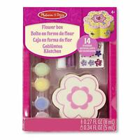 Melissa and Doug Flower Box Wooden Craft Kit - (Damaged Packaging) - 18852