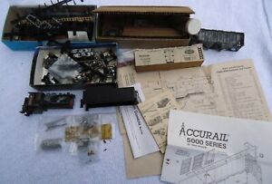 Ho Track Freight Car & Tender Shell Lot Of Parts.