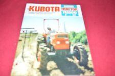 Kubota B5500 Tractor Dealers Brochure DCPA2