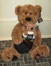 Large Harley Davidson Holiday Rider III Bear Plush w/ Bonus Bear Ornament