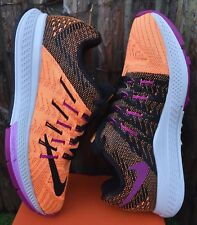 BNWB Nike Air Zoom Elite 8 Women's US 5.5 UK 3 EUR 36 Citrus/Fuchsia/Black