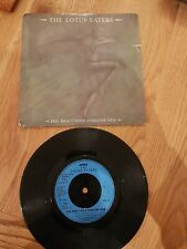 """THE LOTUS EATERS You Don't Need Someone New 1983 7"""" Vinyl VG+"""
