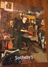 Victorian and Edwardian Art Sotheby's 2009 December London