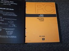John Deere 644B Wheel Loader Original Factory Parts Catalog Manual Book PC1404