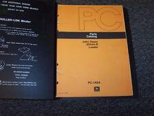 John Deere 644B Wheel Loader Original Factory Parts Catalog Manual Book PC1404