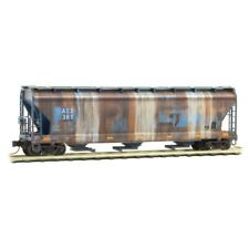 AEX Ex Grand Truck 3-Bay Covered Hopper Weathered MTL#094 51 560 N-Scale