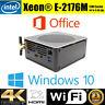 Intel Xeon E-2176M 16G RAM 512G/1TB SSD NUC Mini PC (Windows Pro for WKS)