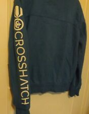 CrossHatch Hoodie size L blue hooded sweatshirt casual sport autumn see photos