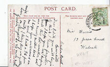 Genealogy Postcard - Family History - Harriss - Jesson Road - Walsall    U3294