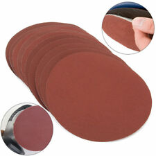 "10Pcs 150mm 6"" 2000 Grit Sanding Discs Hook Loop Sandpaper Sander Sand Paper"
