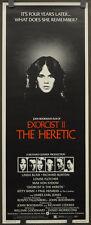 EXORCIST II THE HERETIC 1977 ORIG 14X36 MOVIE POSTER RICHARD BURTON LINDA BLAIR
