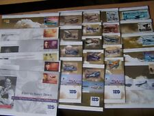 25 DIFFERENT FLIGHT/AIRCRAFT/AVIATION COVERS,EXCELLENT LOT.