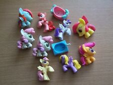 Collection 11 My Little Pony Figures and Accessories