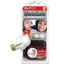 Alpine Motorrad Gehörschutzstöpsel MotoSafe, 1 Paar, Lärmschutz Windschutz Ohr