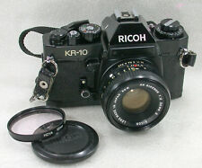 Ricoh KR-10 SLR 35mm Camera + XR Rikenon 50mm F2 Standard Lens No. 53334284