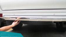 Chrome Pearl White Under Rear Bumper Cover Trim For Toyota Prado FJ150 2010-2016