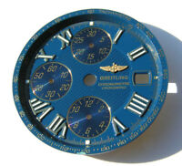BREITLING CHRONOMETRE CROSSWIND B13355 BLAUES ZIFFERBLATT BLUE DIAL ESFERA I083