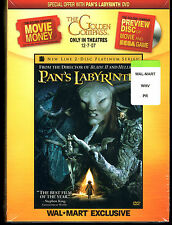 Pan's Labyrinth Wal-Mart Exclusive DVD, NEW Sealed