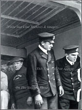 Photo RMS Titanic: Only Known View Of C. Lightoller & W. Murdock On Duty, 1912