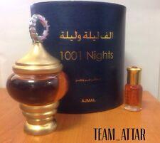 6ml 1001 Nights By Ajmal Arabian Attar Halal Perfume Oil Alf Lail O Laila Ittar