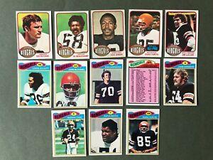 Lot 13 cartes NFL Cincinnati Bengals 1976 1977 TOPPS Football Américain